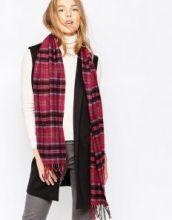 теплый шотландский шарф 100% шерсть ягнёнка , расцветка клана Грант Grant , плотность 6