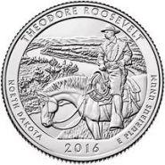 34 Национальный парк Америки Парк Теодора Рузвельта. 2016г
