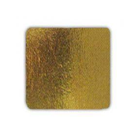 Подложка золотая 21х21см