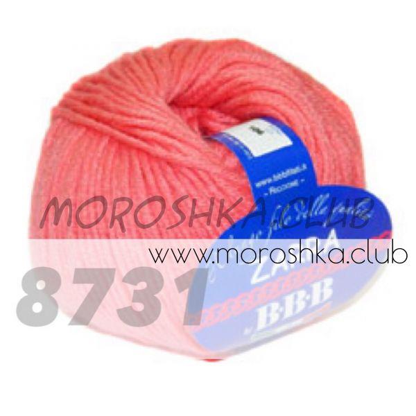 Коралловый Zarra BBB (цвет 8731)