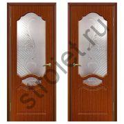 Двери межкомнатные Венеция  итальянский орех пвх