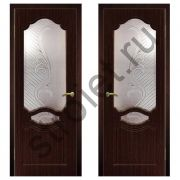 Двери межкомнатные Венеция венге пвх