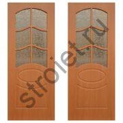 Двери межкомнатные Неаполь миланский орех пвх
