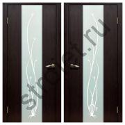 Двери межкомнатные Рассвет венге пвх