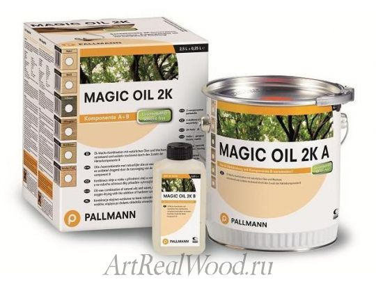 Масло цветное Magic Oil 2K Pallmann