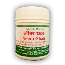 Ним Гхан Адарш, Neem Ghan Adarsh - чистая кровь 40 гр - 120 таб