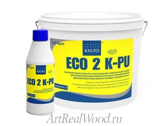 Паркетный клей ECO 2-K-PU KIILTO