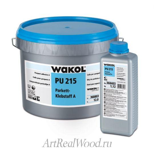 Паркетный клей WAKOL PU 215 Parkettklebstoff Wakol Chemie