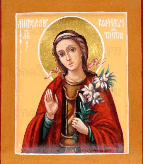 Икона Мирослава Константинопольская (рукописная)