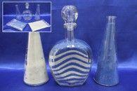 Набор для песочной церемонии сине-белый