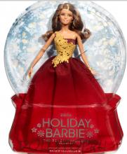 Коллекционная кукла Праздничная Барби 2016 - 2016 Holiday Barbie Doll