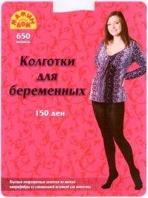 Колготки для беременных 150 den, модель 650, черный
