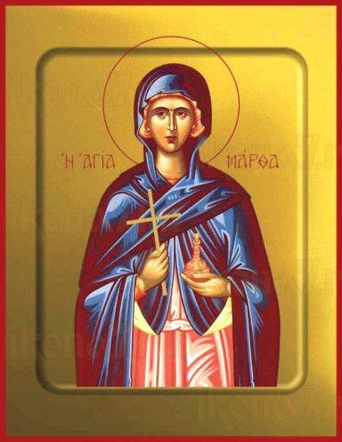 Икона Марфа Вифанская (рукописная)