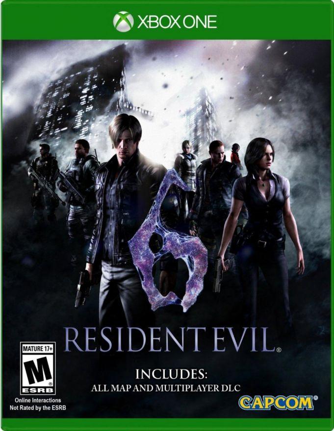 Игра Resident Evil 6 (Xbox One)