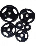 Диск обрезиненный чёрный WP074-2.5, диаметр 51мм, 2,5кг