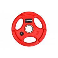 Диск обрезиненный красный  WP074-5.0, диаметр 51мм, 5кг
