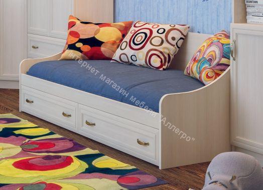 """Кровать с ящиками """"Вега"""" (SV-мебель)"""