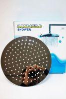 Тропический душ, 250мм, круглая хромированная лейка