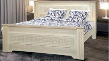 Кровать из массива Анабель-16