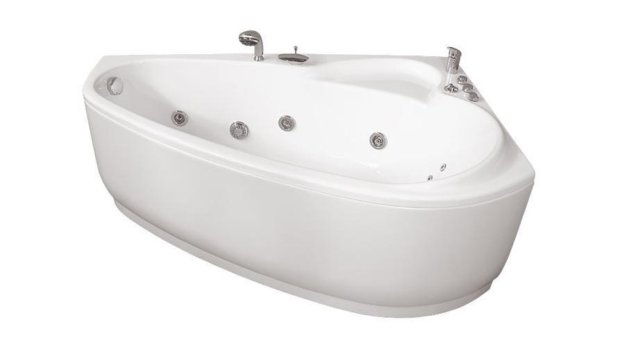 Акриловая ванна Triton Пеарл-Шелл 160x104