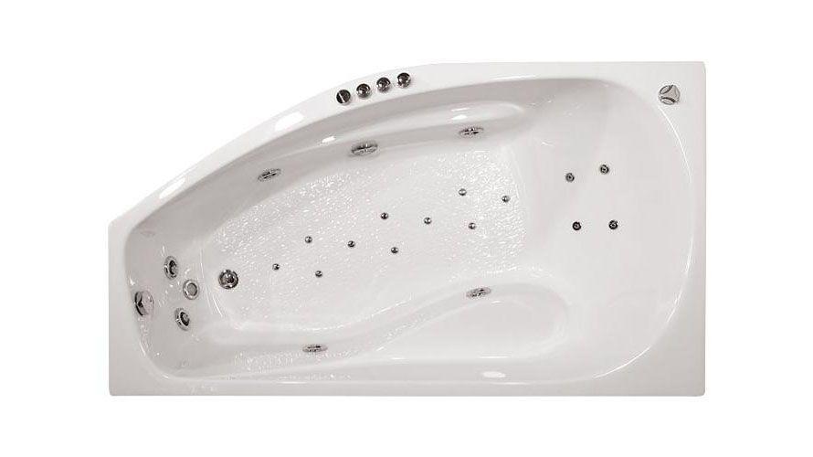Акриловая ванна Triton Скарлет 167x96