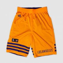 Детские шорты adidas Young Summer Run Reversible Shorts жёлтые