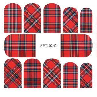Слайдер-дизайн для ногтей №0262