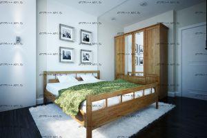 Кровать (Паоло) Троя Массив DreamExpert