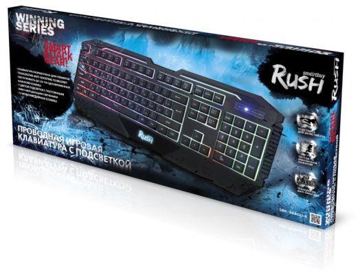 Клавиатура игровая мультимедийная Smartbuy RUSH 304 USB черная