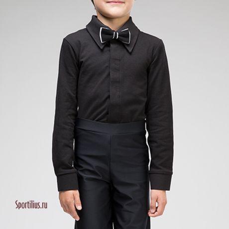 черная рубашка для танцев