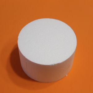 Цилиндр 15х9 см, пенопласт (1уп = 5шт)