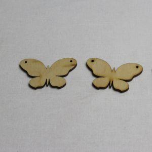 """Заготовка """"Бабочка"""" высота 5 см, фанера 3 мм (1уп = 20шт)"""