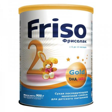 Смесь Friso Фрисолак 2 Gold (6-12 мес.) 900 гр
