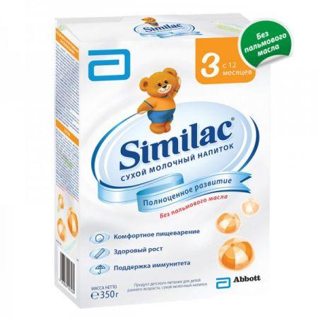 Сухой молочный напиток Similac 3 (с 12 мес.) 350 гр