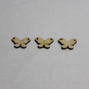 """`Заготовка """"Бабочка"""" высота 3 см, фанера 3 мм"""