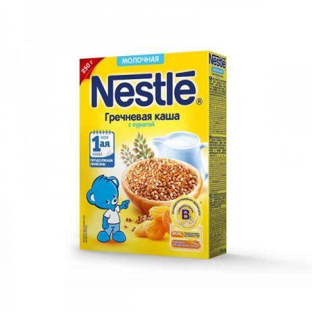 Каша молочная Nestle гречневая с курагой (с 5 мес.) 250 г