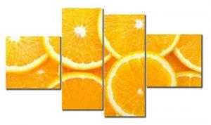 Модульная картина Дольки апельсина