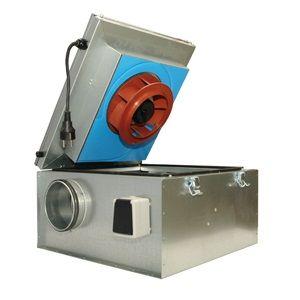 Вентилятор канальный KVKE 315 EC (шумоизолированный)