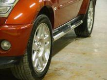 Боковые подножки Voyager, серия Sport X, нерж. сталь ф 70мм