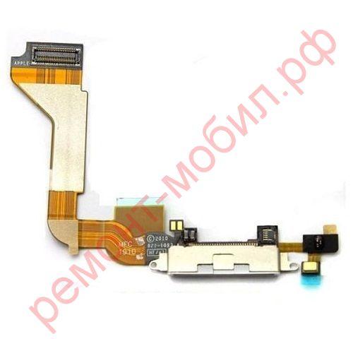 Шлейф для iPhone 4s с разъемом зарядки
