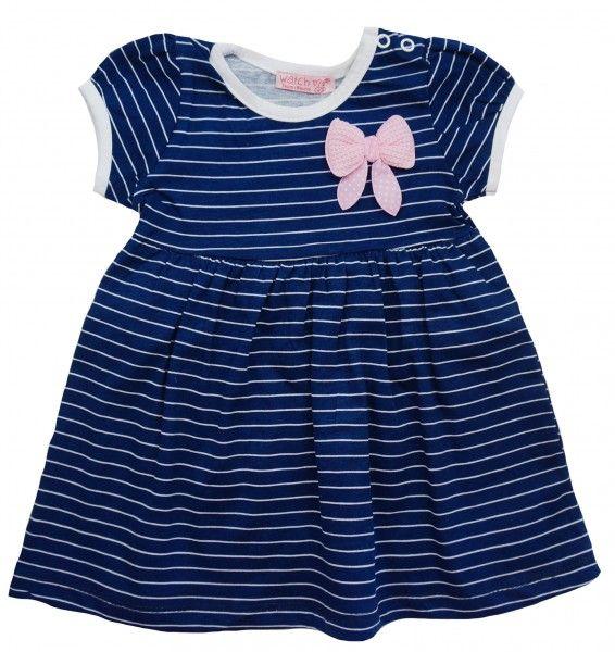 Платье Морская мечта для девочки 9 месяцев