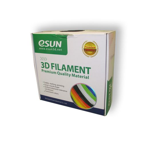 Катушка ABS-пластика ESUN 1,75 мм 1кг, светящаяся зеленая