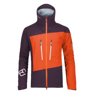 Ortovox MERINO GUARDIAN SHELL 3L [MI] JACKET M crazy orange