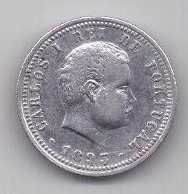 100 рейс 1893 г. AUNC. Португалия.