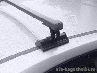 Универсальный багажник на крышу Муравей С-15,  стальные прямоугольные дуги