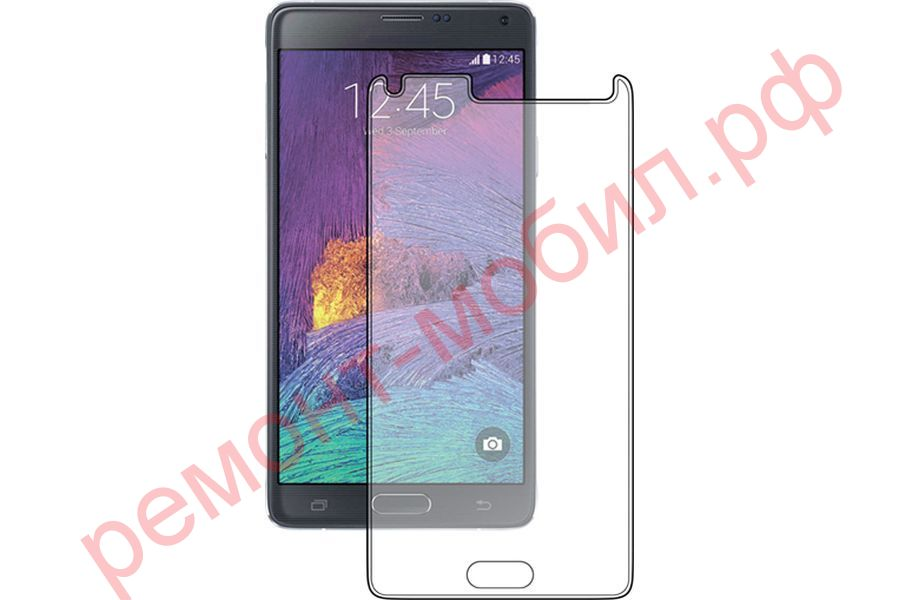 Защитное стекло для Samsung Note 4 ( N9100 )