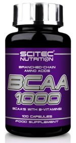 BCAA 1000 от Scitec Nutrition 100 кап