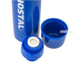 Термос BIOSTAL NB1000C-B с двойной колбой цветной синий (узкое горло)1 л