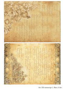 Old manuscript 2