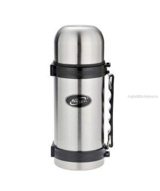 Купить Термос BIOSTAL NY1000-2 с кнопкой, ручкой (узкое горло) 1 л